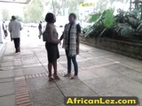 OMG! Must See This Stunning African Body! Lesbians Washing Eachothers Pussy.