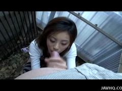 Sultry Asian Jerks This Hard Cock