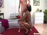 Roundass Black Beauty Twerking And Fucking