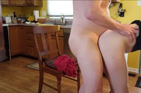 Horny Couple Fucking In The Kitchen